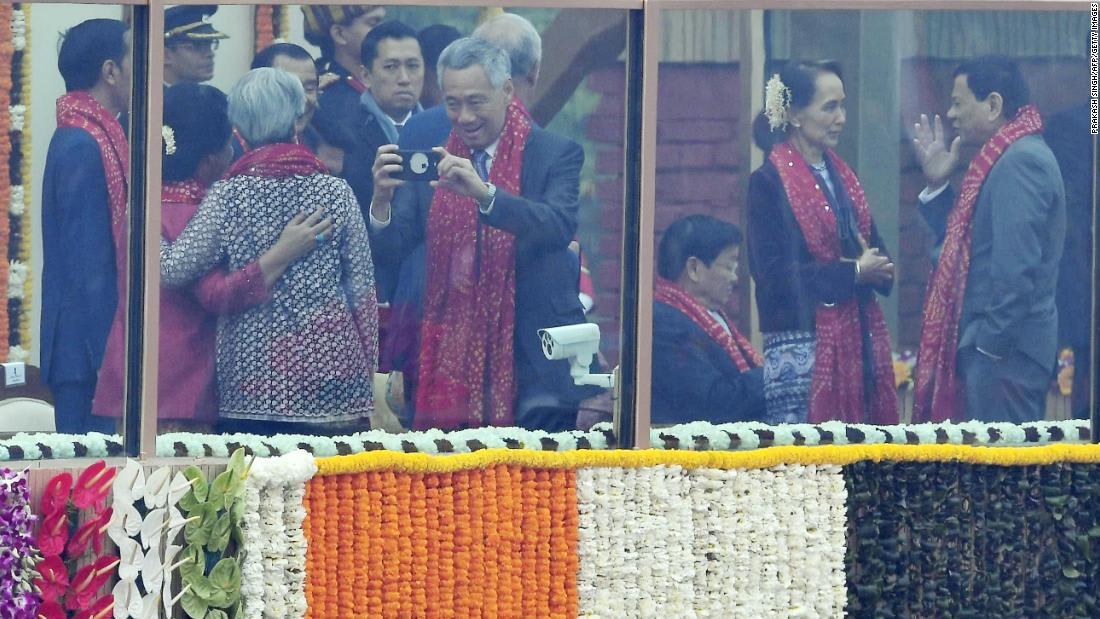 """الرئيس الفلبيني يدعو نظيرته في ميانمار لتجاهل ناشطي حقوق الإنسان """"المزعجين"""""""