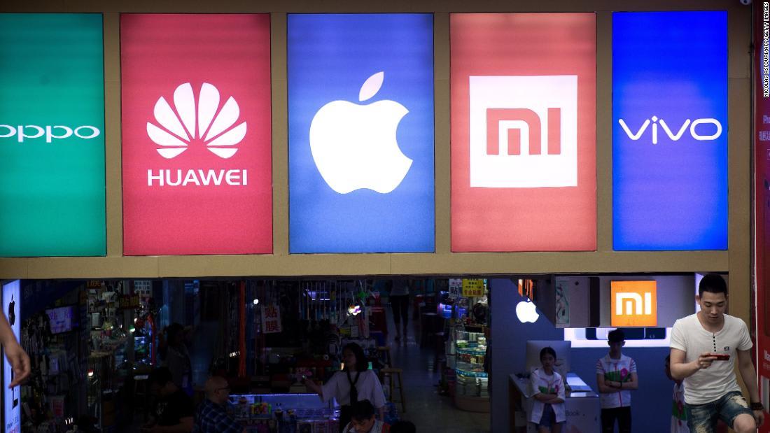 أكبر سوق للهواتف الذكية في العالم تشهد انخفاضاً ملحوظاً