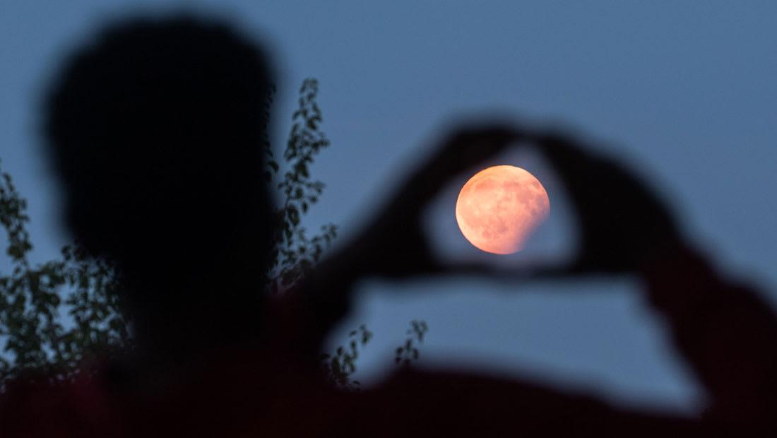 خسوف كلي للقمر والمكان الأفضل لرؤيته شرق العالم العربي