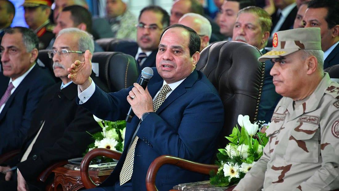 """السيسي: """"أنا مش سياسي.. وبقالي 50 سنة بتعلم يعني ايه دولة"""""""