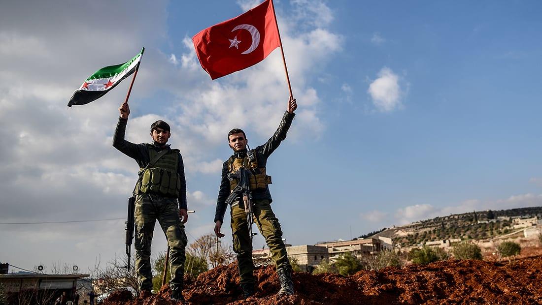 """الجيش التركي يواصل تقدمه غرب عفرين ويعلن السيطرة على """"سوركه"""""""