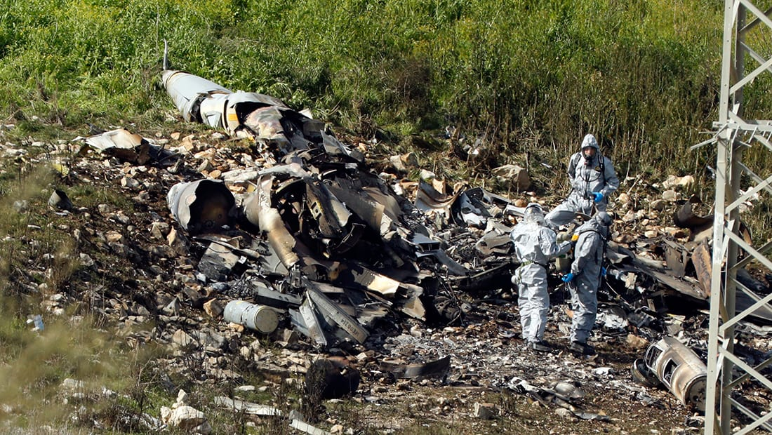 جيش إسرائيل: الطائرة المعترضة إيرانية ومن يقودها إيرانيون