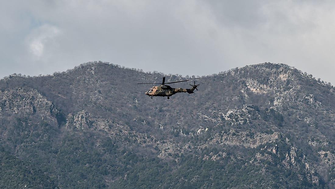 سقوط مروحية عسكرية تركية ومقتل جنديين في عفرين السورية