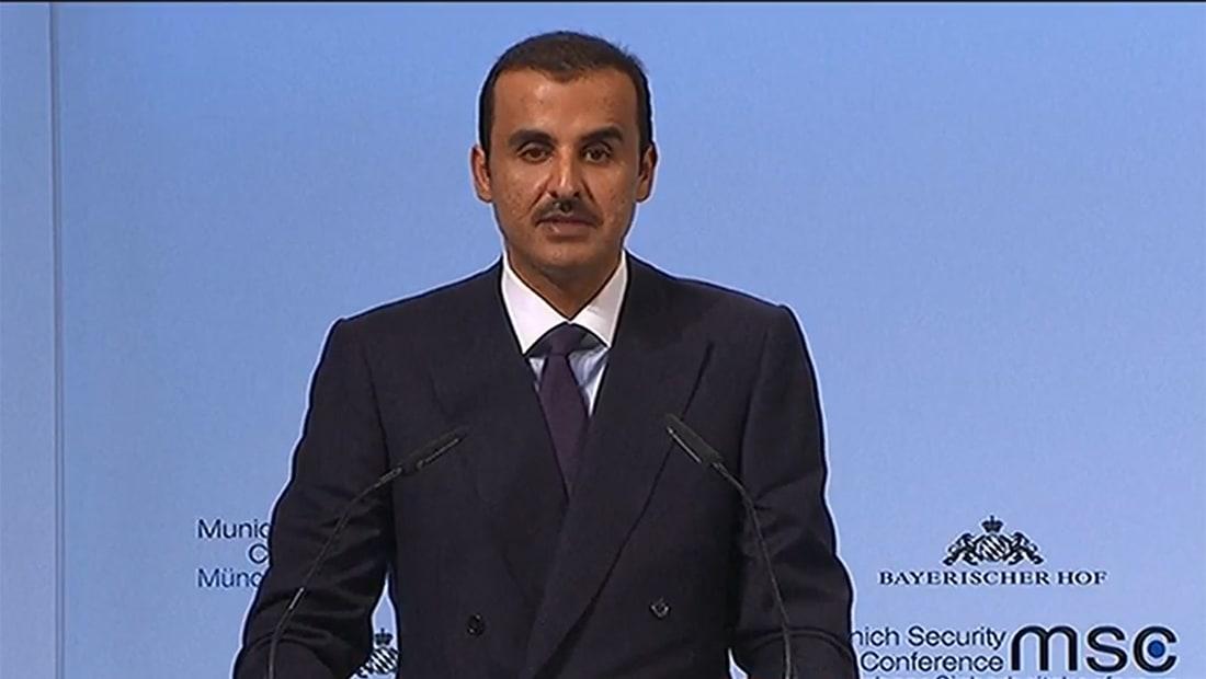 الشيخ تميم: الأزمة الخليجية عديمة الجدوى وقطر أقوى من أي وقت مضى