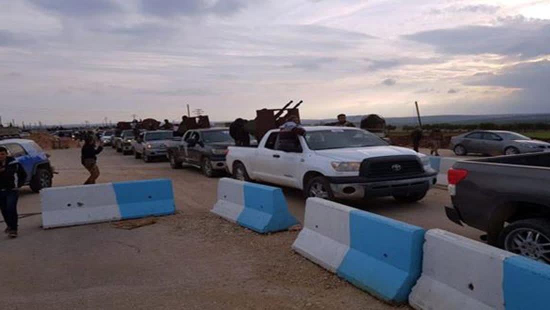 """قوات موالية للنظام السوري تصل عفرين لـ""""لمواجهة عدوان تركيا"""""""