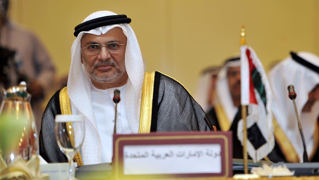 """قرقاش يرد على """"دعوة قطر"""" لنظام إقليمي يضم تركيا وإيران"""