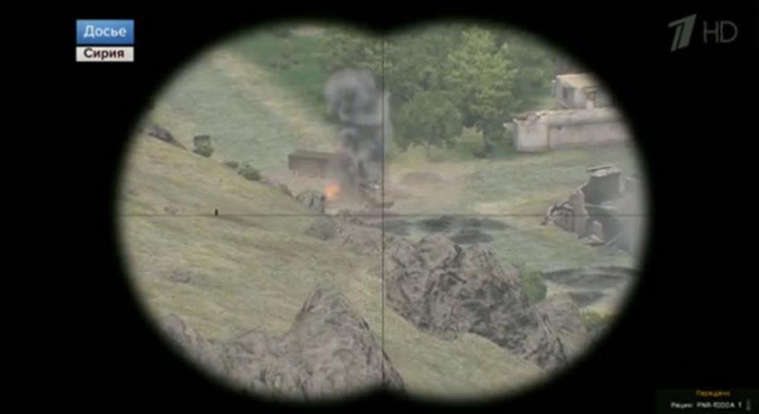 مرة جديدة.. صورة من لعبة فيديو تظهر بتغطية قناة روسية للحرب بسوريا