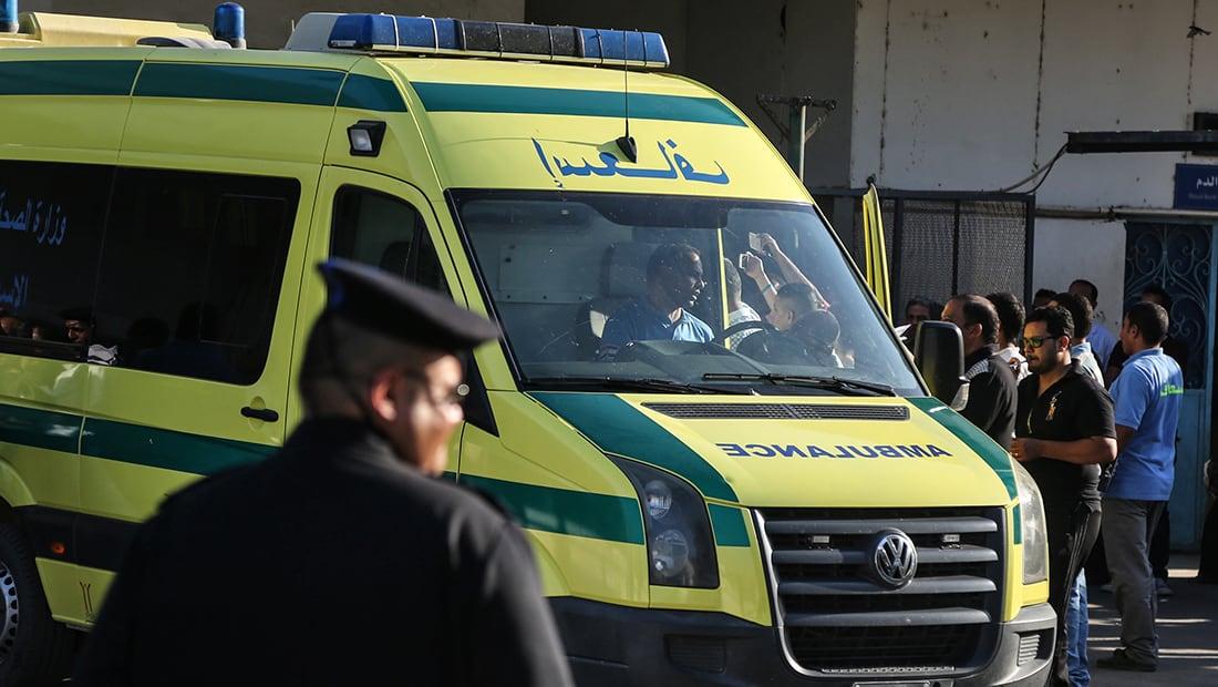 الصحة بمصر: حصيلة تصادم القطارين 12 قتيلا و39 مصابا