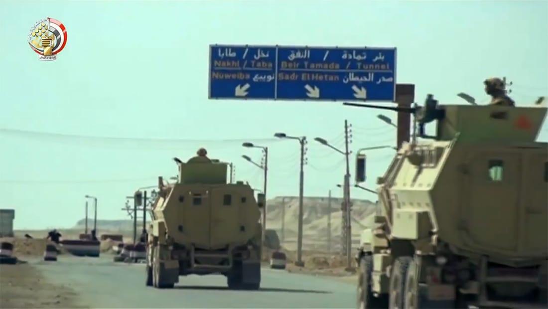 """""""عملية سيناء"""".. جيش مصر يعلن اعتقال 3 قيادات تكفيرية ومقتل عسكريين وإصابة 6 آخرين"""