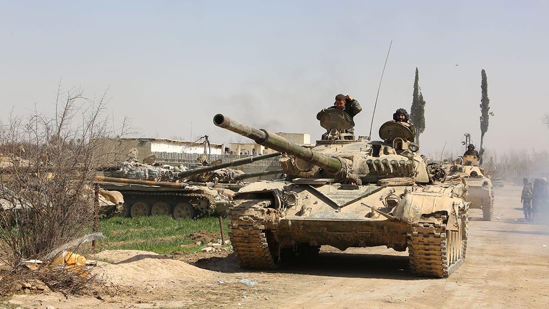 """ناشط لـCNN: النظام قسّم مناطق سيطرة """"الثوار"""" بالغوطة لـ3 أجزاء"""