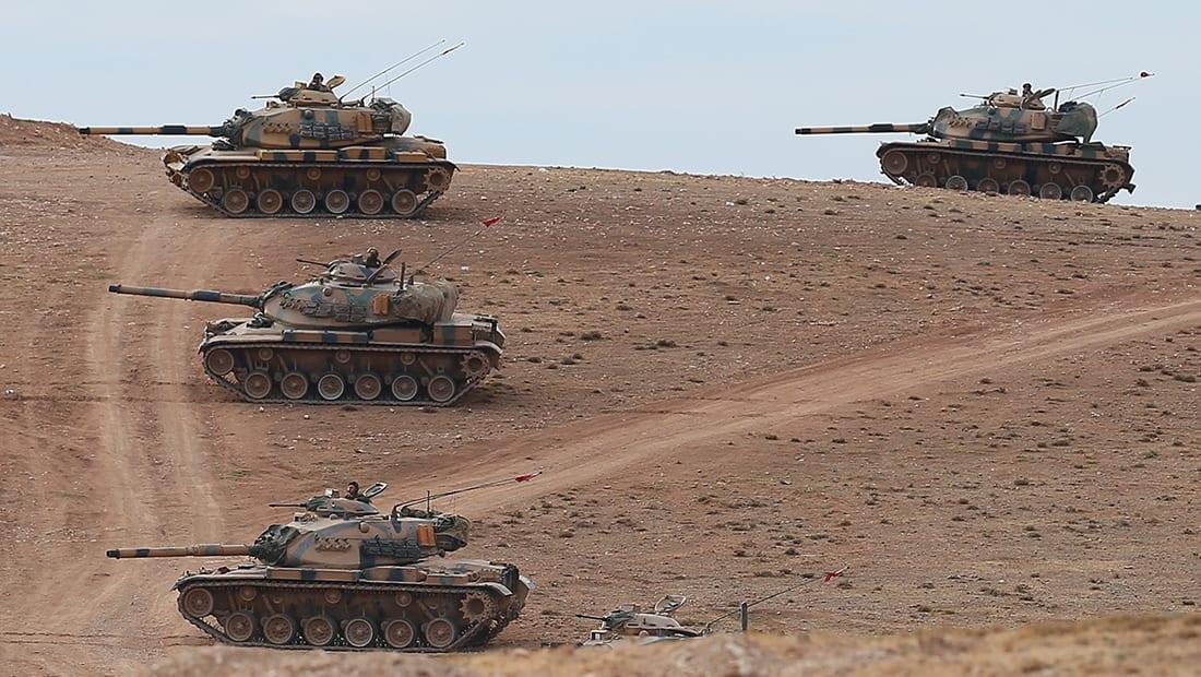 الجيش التركي يعلن محاصرة مدينة عفرين بسوريا