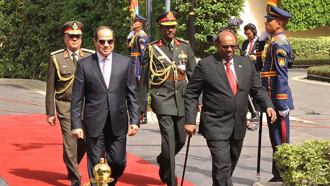 البشير من القاهرة: قوة مصر قوة للسودان