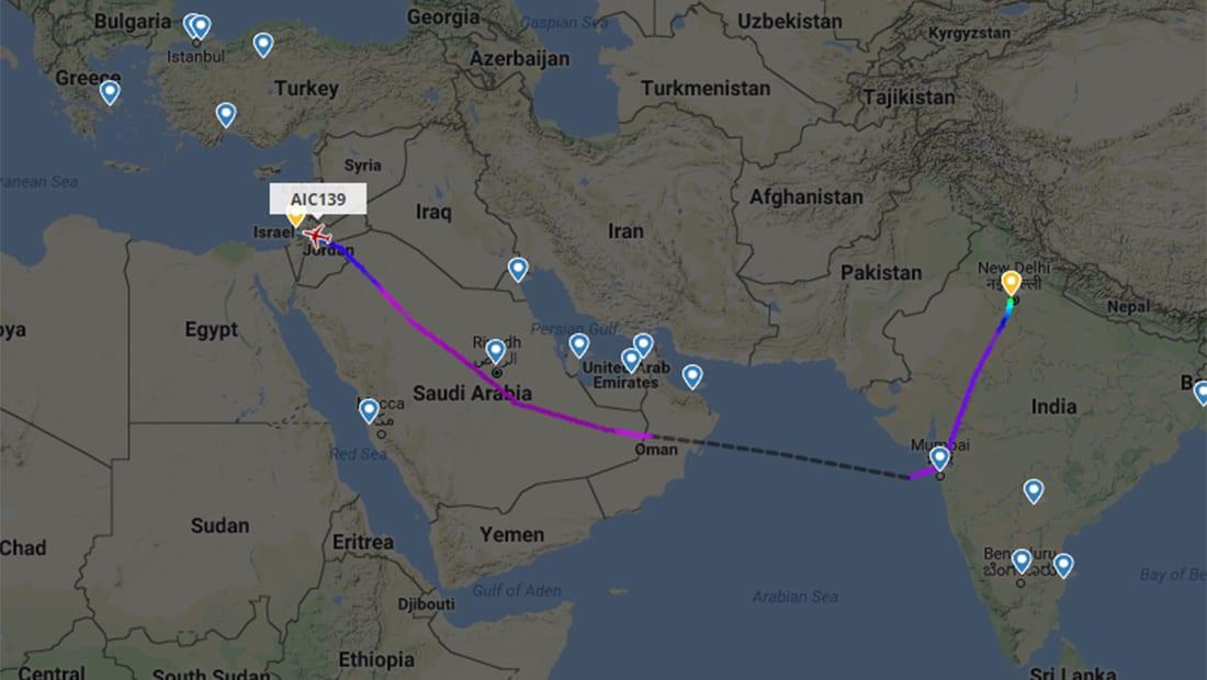 نتنياهو عن رحلة الطائرة الهندية: نتيجة عملية طويلة يُفضل أن تظل في طي الكتمان حاليا