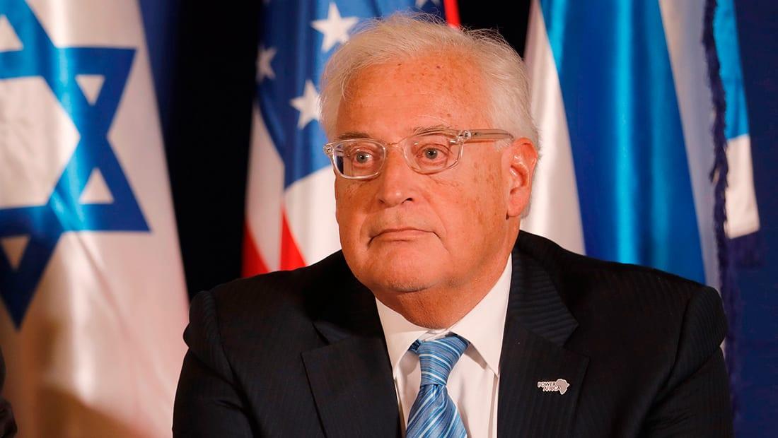 أبوردينة: تصريحات سفير أمريكا بإسرائيل تدخل سافر ومستهجن