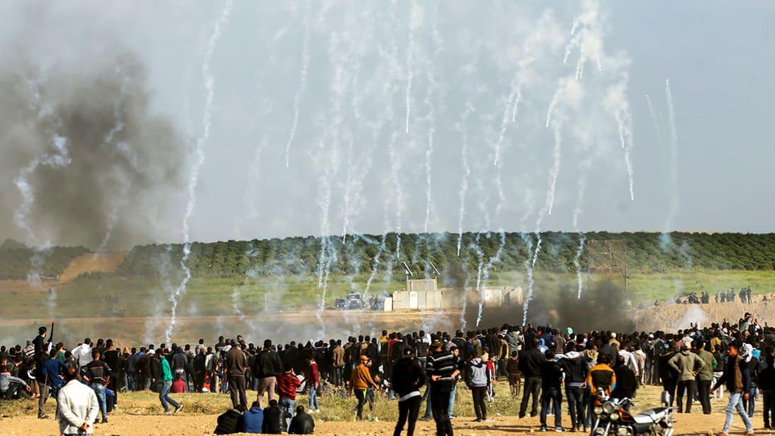 مقتل 15 فلسطينيا وإصابة 1400 إثر مواجهات مع القوات الإسرائيلية في غزة
