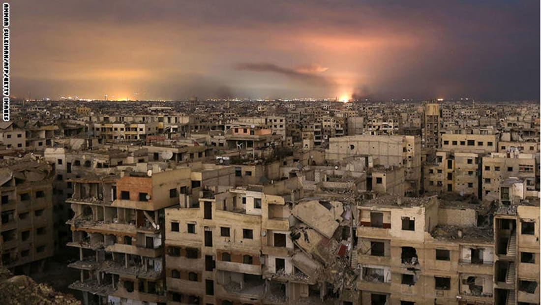 """سوريا: بدء عمليات إخراج """"فيلق الرحمن"""" من دوما بالغوطة"""