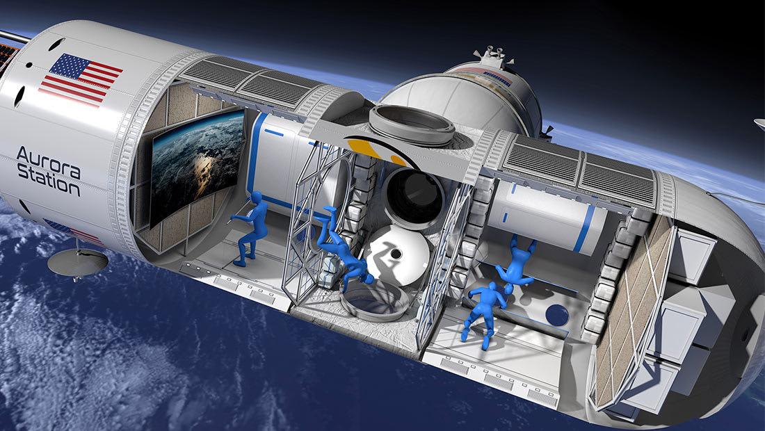 الإعلان عن أول فندق فاخر في الفضاء..وهذه تكلفته الخيالية!