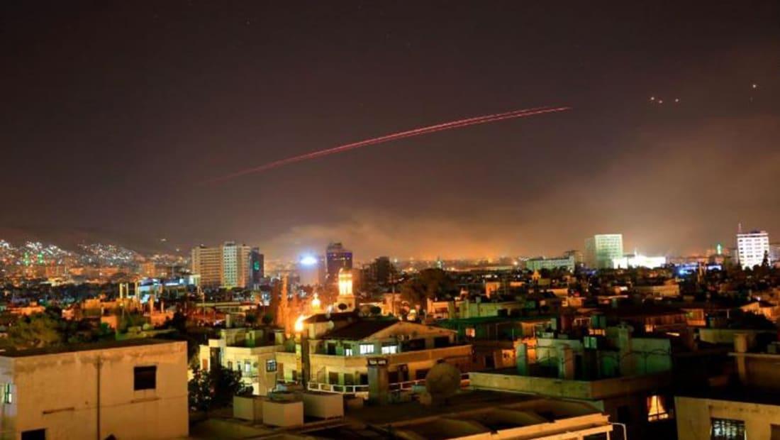 ترامب يعلن شن ضربات أمريكية بريطانية فرنسية تستهدف البرنامج الكيماوي السوري