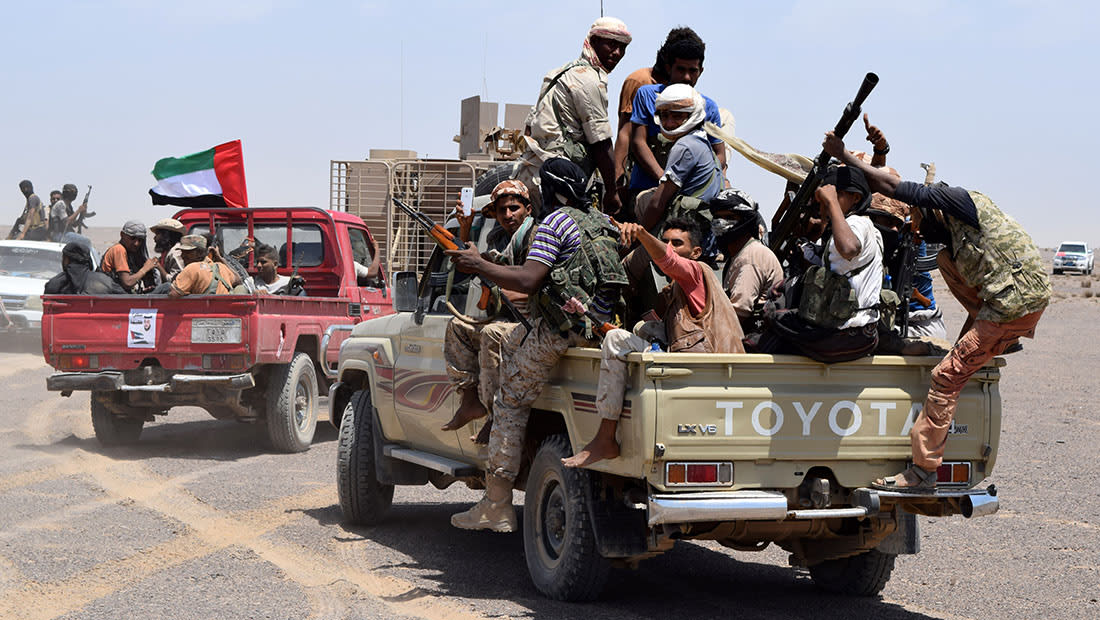 """الإمارات: السيطرة على """"درون"""" إيرانية محملة بالمتفجرات في اليمن"""