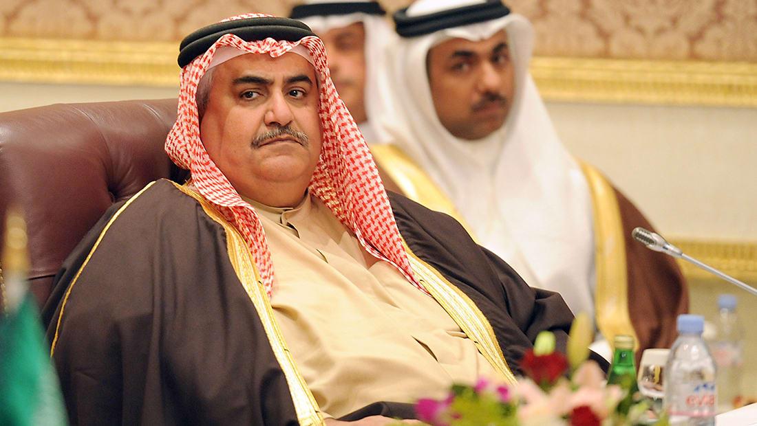 """وزير خارجية البحرين عن """"الأزمة الخليجية"""": المطلب 14 هو محاكمة الجزيرة"""