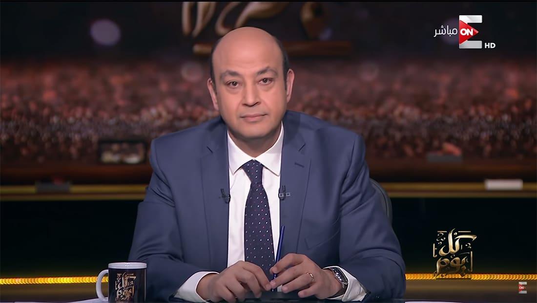 """عمرو أديب عن """"درون"""" الرياض: هذه مدينة يُضرب عليها صواريخ وتُسقطها"""