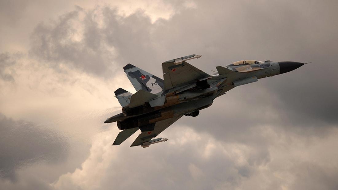 الدفاع الروسية: سقوط مقاتلة من طراز سوخوي SU-30 في سوريا