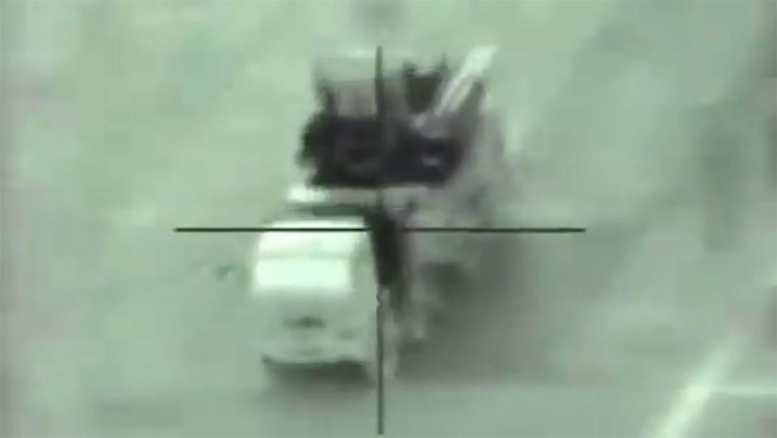 جيش إسرائيل ينشر فيديو تدمير بطارية للدفاع الجوي السوري استهدفت مقاتلاته