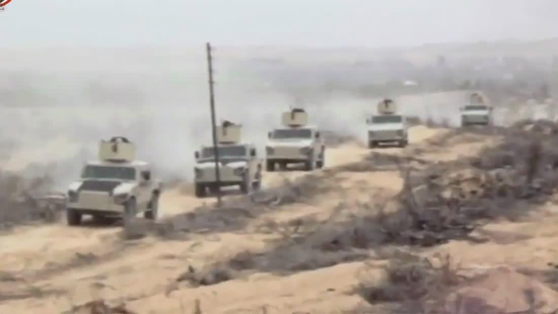 """جيش مصر يعلن قتل 19 تكفيريا بـ""""عملية سيناء 2018"""""""