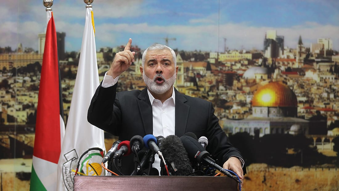 إسماعيل هنية: مصر لم تنقل رسائل تهديد إسرائيلية لحماس.. والمسيرات مستمرة حتى فك حصار غزة