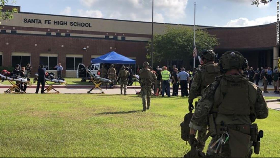 سقوط 10 قتلى إثر إطلاق نار داخل مدرسة في تكساس