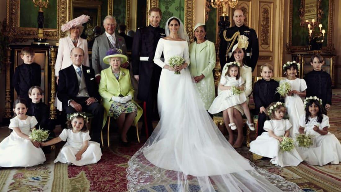 الكشف عن الصور الرسمية للزفاف الملكي لدوق ودوقة ساسكس