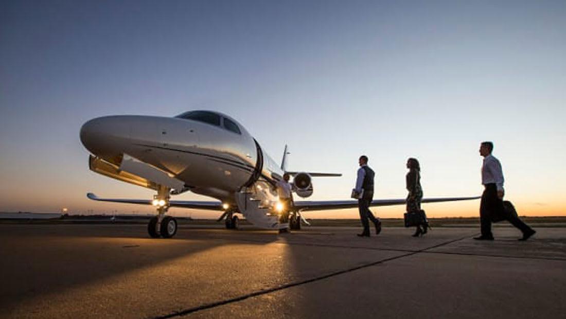 اكتشف الوجهات الأكثر شعبية للأثرياء على متن الطائرات الخاصة