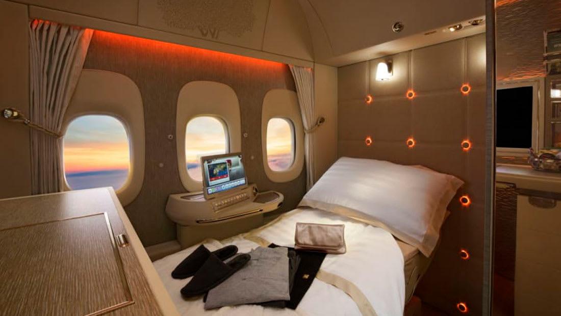 """ركاب طيران الإمارات سيشاهدون العالم من خلال """"نوافذ افتراضية"""" في المستقبل"""