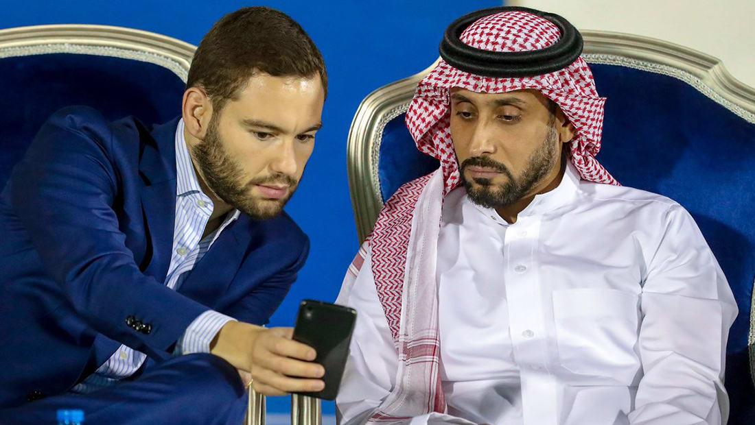 تركي آل الشيخ يعفي سامي الجابر من رئاسة الهلال بعد 4 شهور فقط