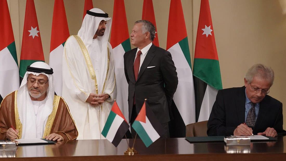 صندوق خليفة الإماراتي يمول مشروعات أردنية بـ100 مليون دولار