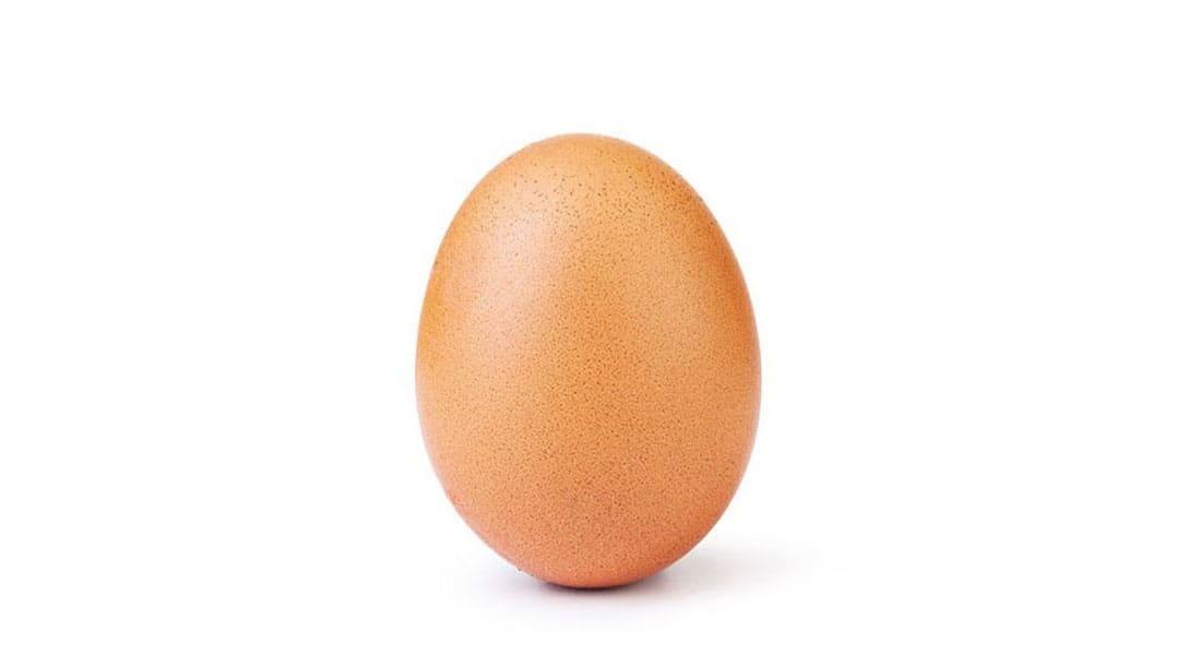 """""""بيضة"""" تتغلب على كايلي جينر في عدد الإعجابات على انستغرام"""