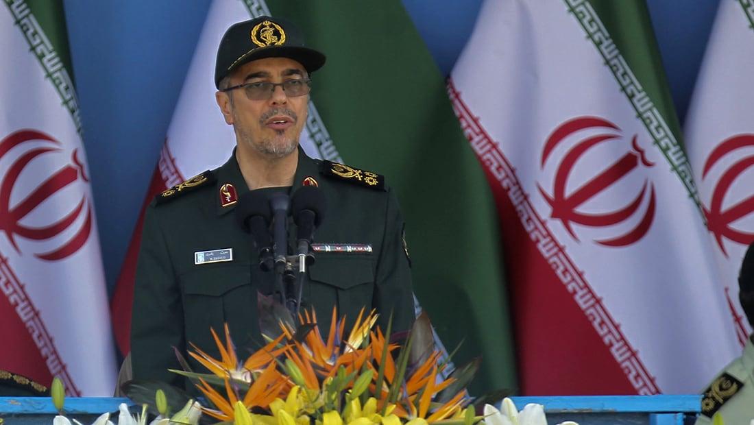 """من دمشق.. رئيس الأركان الإيراني يدعو القوات """"الأجنبية"""" لمغادرة سوريا فورا"""