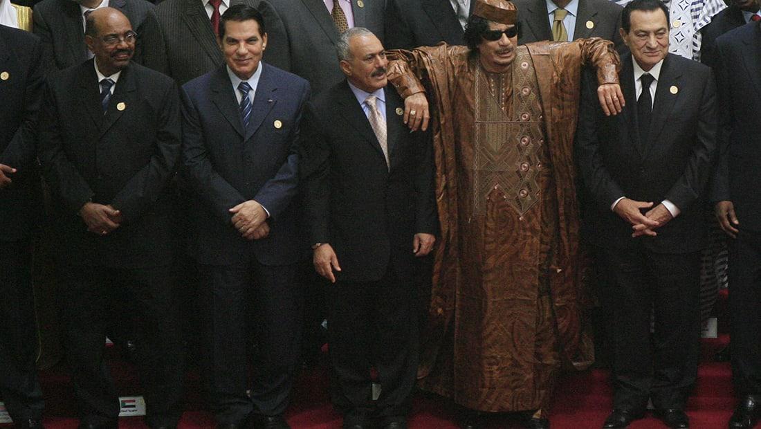 تداول صورة زعماء القمة العربية في 2010: البشير يلحق بالسابقين