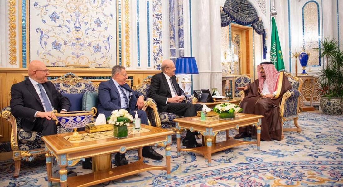 عاهل السعودية الملك سلمان يستقبل 3 رؤساء حكومة سابقين للبنان.. وهذا ما استعرضوه