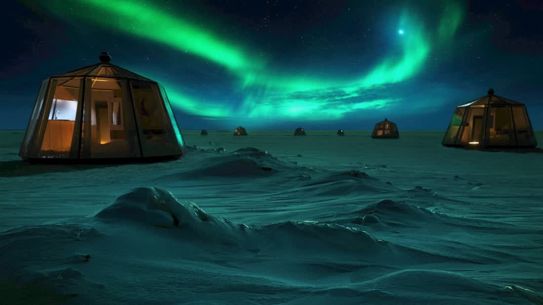 ليلة تحت نجوم القطب الشمالي في هذا الفندق.. فما هي تكلفة هذه المغامرة؟