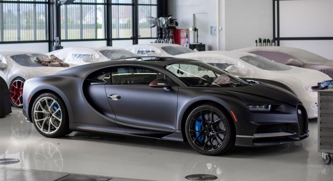 معرض الرياض للسيارات.. بوغاتي بدأ عليها المزاد بـ2 مليون دولار.. إليك بكم بيعت