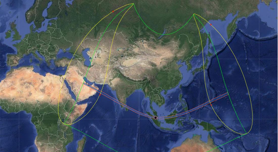 مرصد الفلك الدولي يلفت لظاهرة نادرة في الخليج لم تُشهد منذ أكثر من 100 عام