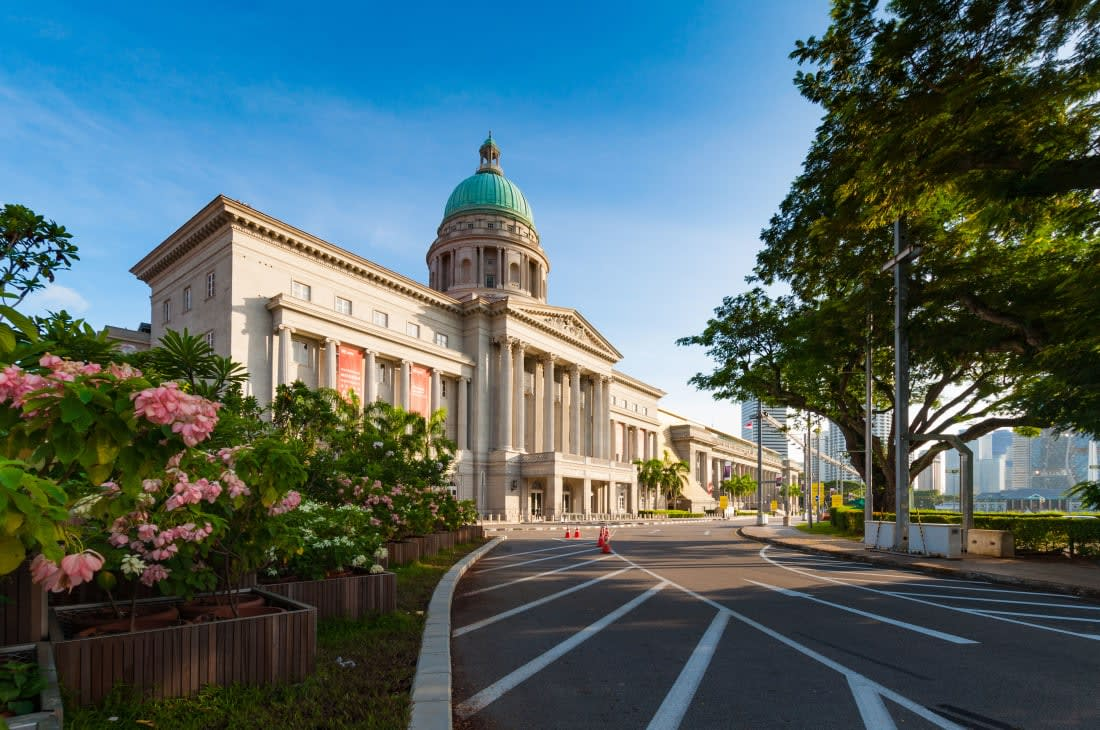 المتحف الوطني بسنغافورة