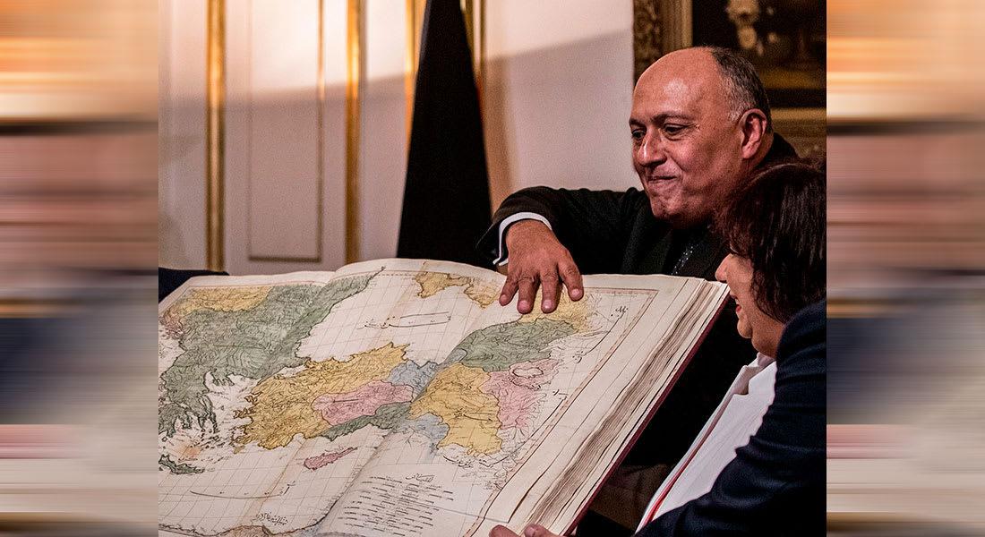 """وزير خارجية مصر يرد على وزير دفاع تركيا حول """"الحدود مع ليبيا"""""""