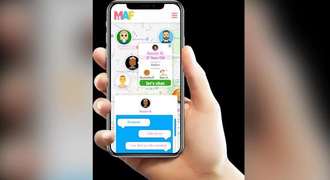تطبيق MAF يساعد ذوي الاحتياجات الخاصة في تكوين صداقات