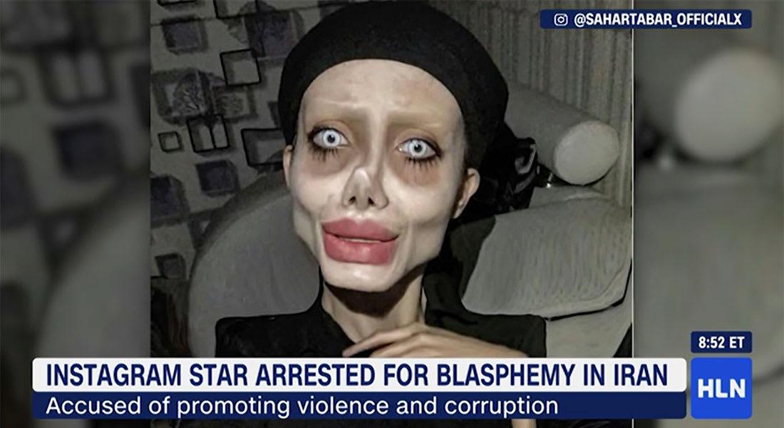 """إصابة فاطمة خيشفاند نجمة """"انستغرام"""" في إيران بفيروس كورونا داخل سجنها"""