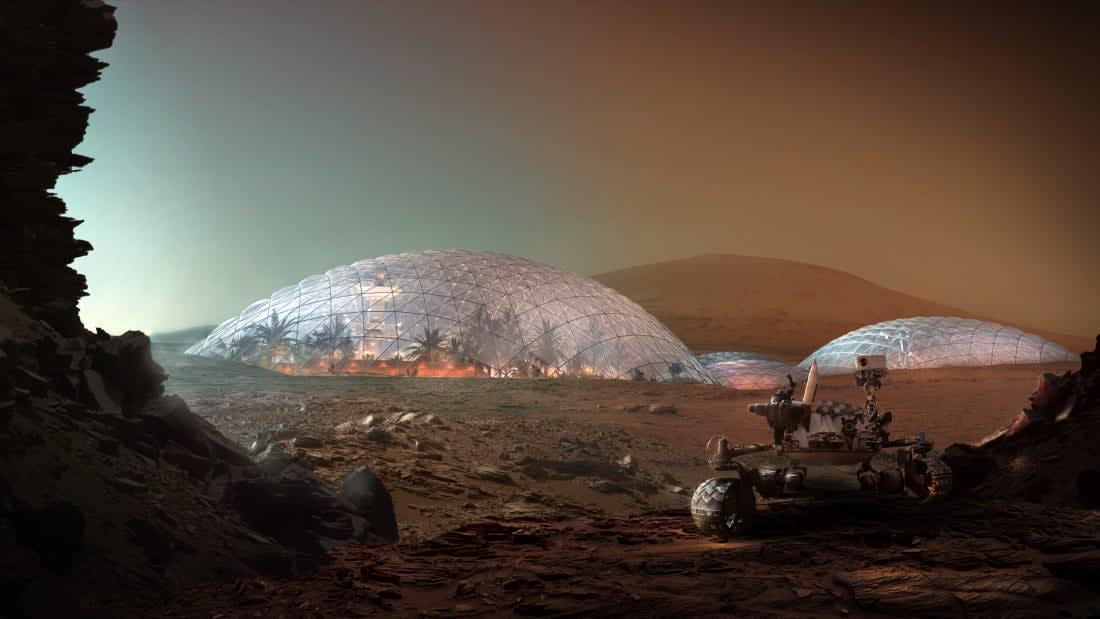 مدينة المريخ العلمية
