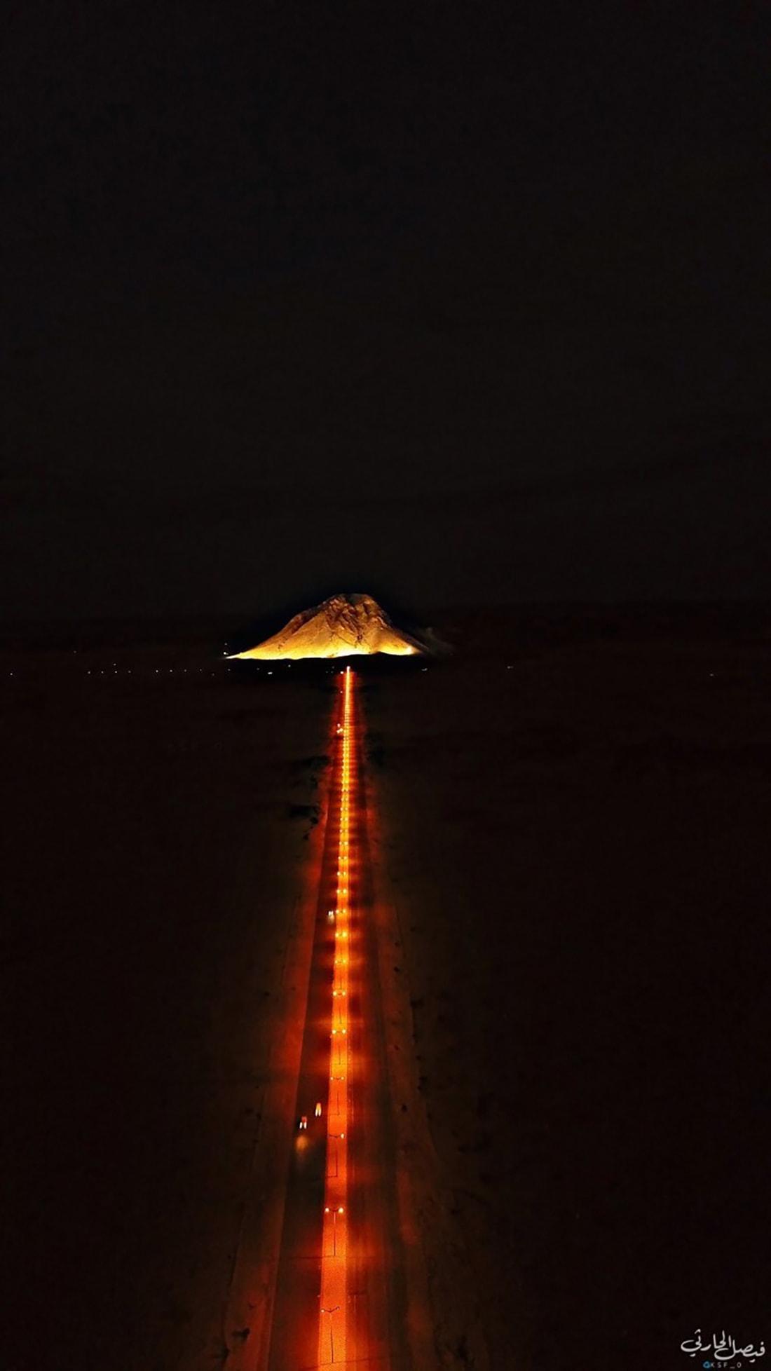 جبل الصايرة البيضاء في السعودية