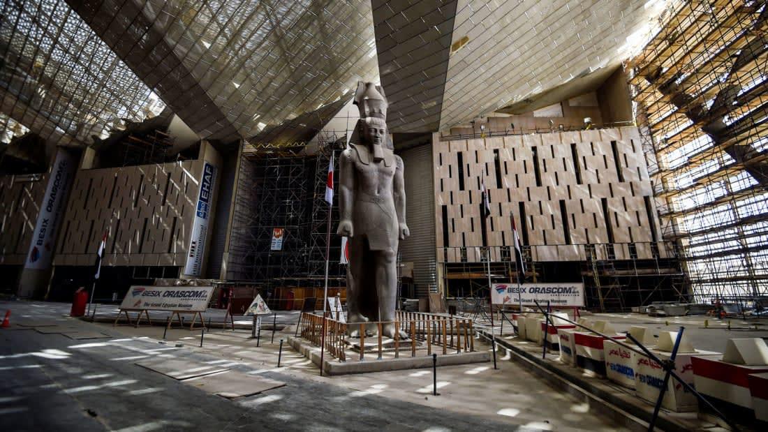 المتحف المصري الكبير في مصر