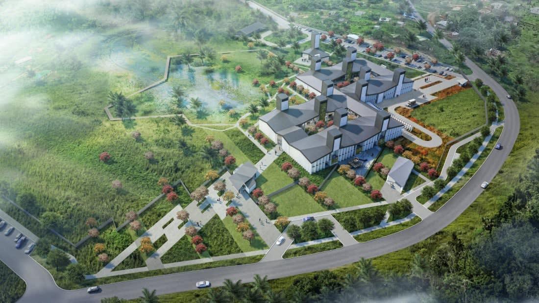 """مستشفى """"نيو ريدمبشن"""" في كالدويل، ليبيريا"""